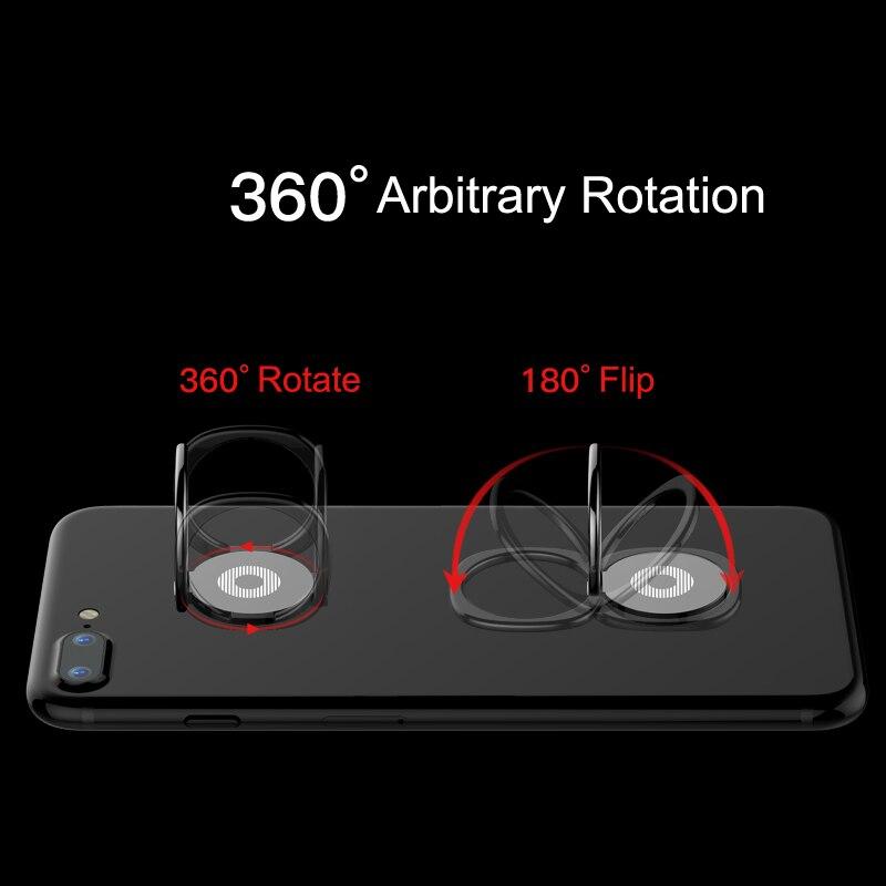 Baseus Dudukan Cincin Telepon Untuk iPhone 11 Pro Xs Max X Samsung - Aksesori dan suku cadang ponsel - Foto 4