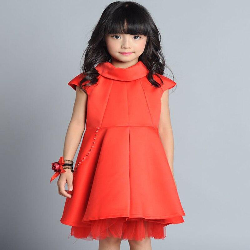 ФОТО girl dress for wedding party 2017 new style flowers princess girls dresses children clothing summer girl elsa dresses