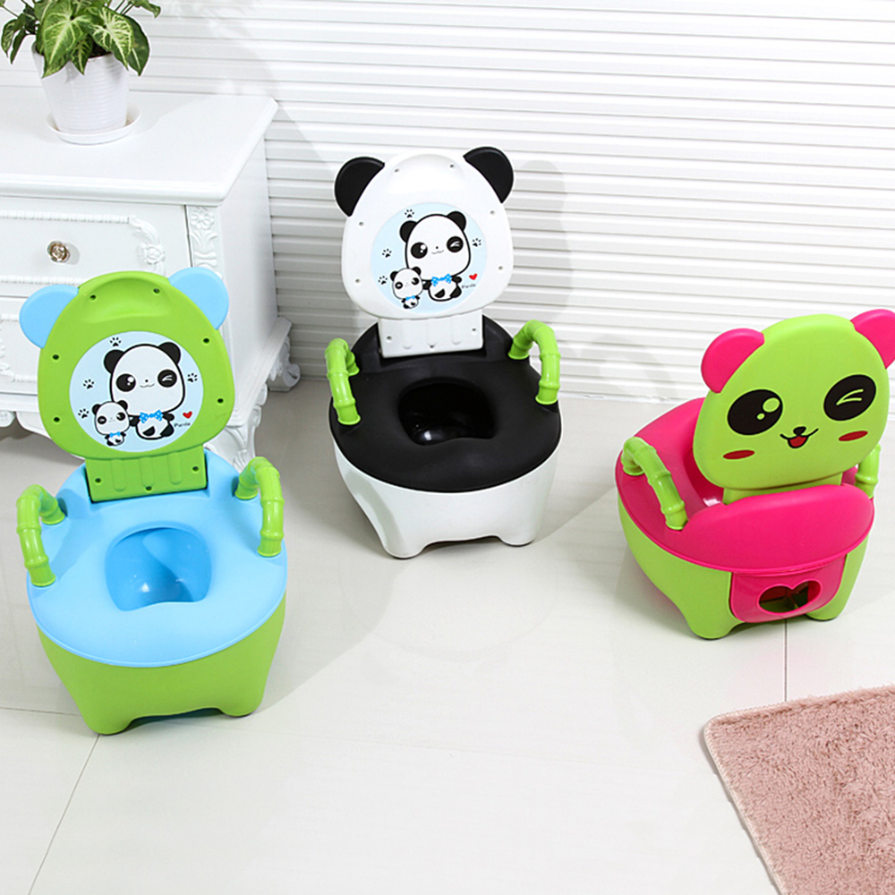 Baby Toilet Cute Cartoon Portable Travel Baby Potty Pee Child Toilet Seat Training Girls Boy Pot Children's Kids Potty Chair WC
