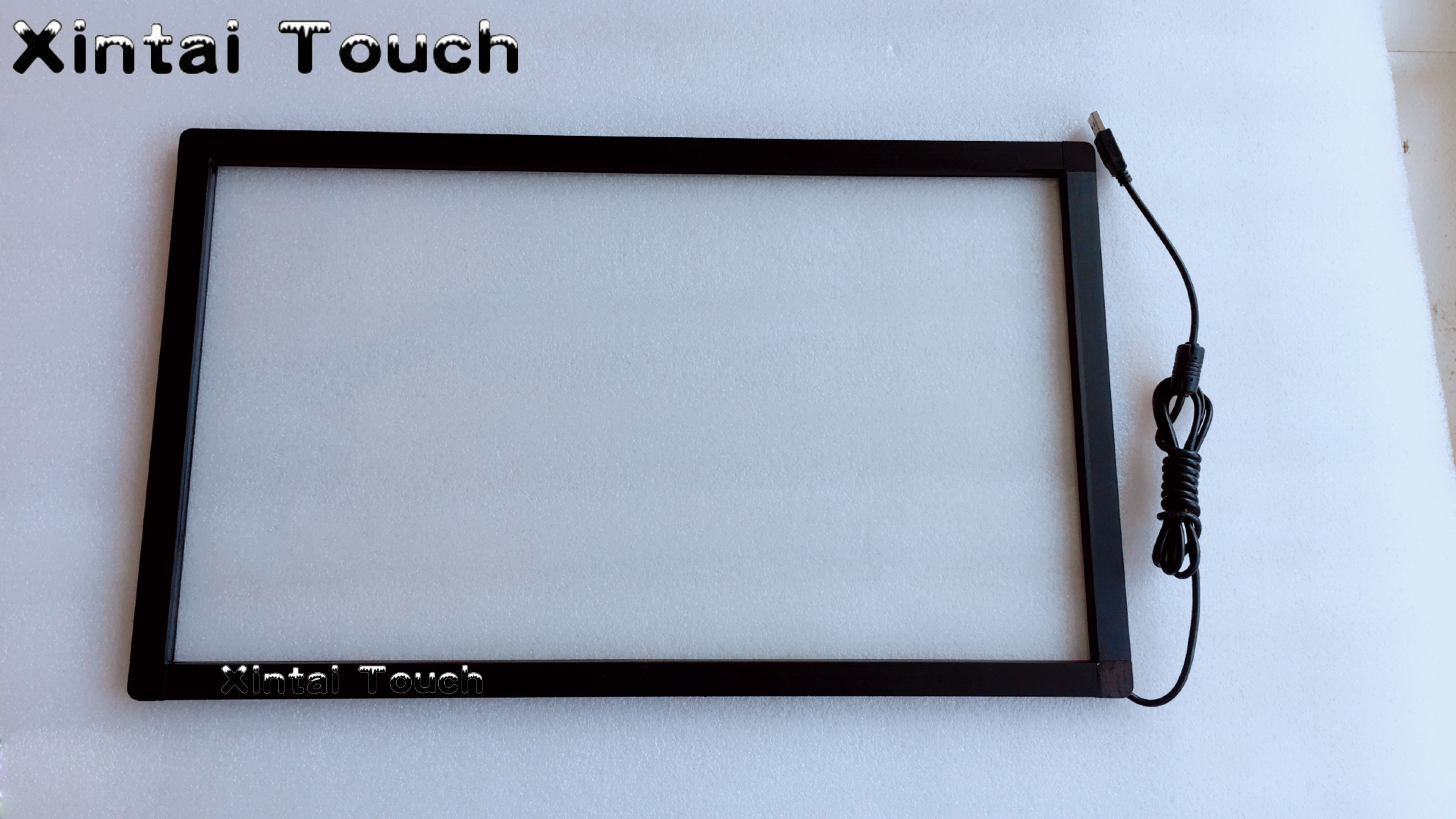 Free Shipping! 40 IR touch frame 10 touch points Infrared LCD Touch Screen overlay for interactive wall and touch tableFree Shipping! 40 IR touch frame 10 touch points Infrared LCD Touch Screen overlay for interactive wall and touch table