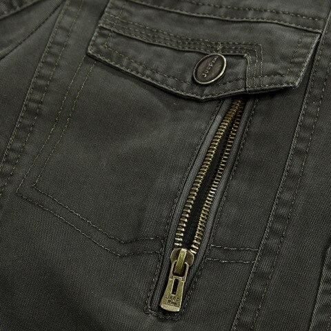 Plus Size 5XL Military Style Men Blazer Spring Autumn Cotton Casual Blazer Masculino Multi-pocket Mens Suit Jacket Blazers homme Multan