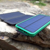 3 6W Solar 10000mAh Mobile Phone Charger 2 USB Solar Phone Charger For IPhone 5 5s