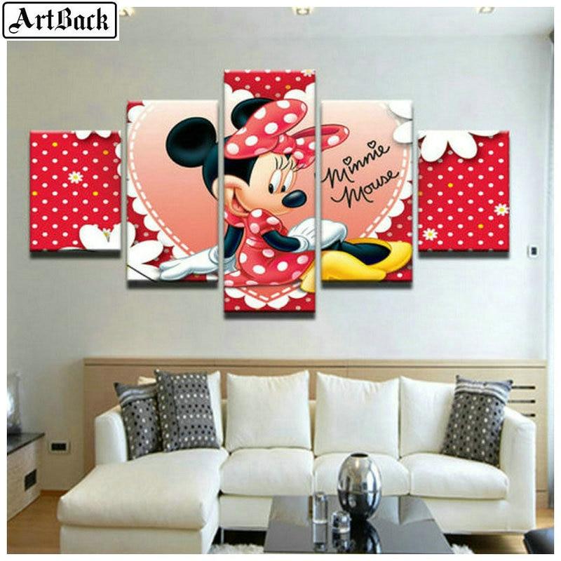 5 spell diamond painting Disney Mickey Mouse full square drill sewing art diamond mosaic embroidery Mickey Minnie sticker5 spell diamond painting Disney Mickey Mouse full square drill sewing art diamond mosaic embroidery Mickey Minnie sticker