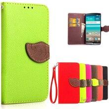 Para coque LG G4 LGG4 Soft silicona cartera Flip Funda de cuero para LG G4 H815 H818 teléfono celular funda protectora fundas caso