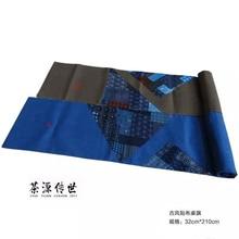 Chayuanchuanshi Старинной ткани таблица runner Винтаж Стиль Деревенском Таблица Бегуна Home Decor таблица runner для Чайной церемонии