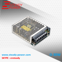 High Efficiency 30w Double Output Switching Power Supply