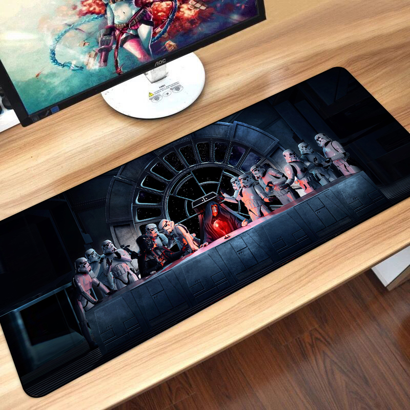 Image 3 - 80x30cm Star Wars Gaming Mouse Pad XXL Computer Mousepad Large XL