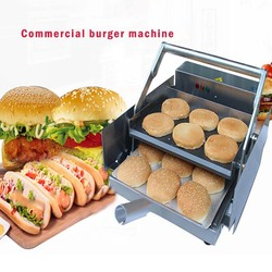220V 800w Commercial hamburger maker commercial electric hamburger machine BT05 1PCS