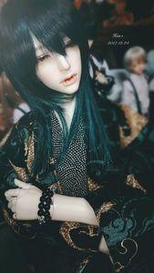 Image 2 - Супер драгоценный камень Albin 1/3 BJD SD куклы вампир Смола модель тела мальчики высокое качество игрушки для девочек День рождения Рождество Лучшие подарки