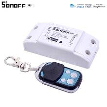 Itead Sonoff RF WiFi умный переключатель 433 МГц пульт дистанционного управления DIY беспроводной умный дом Модуль Автоматизации для Google Alexa 10A 220 В