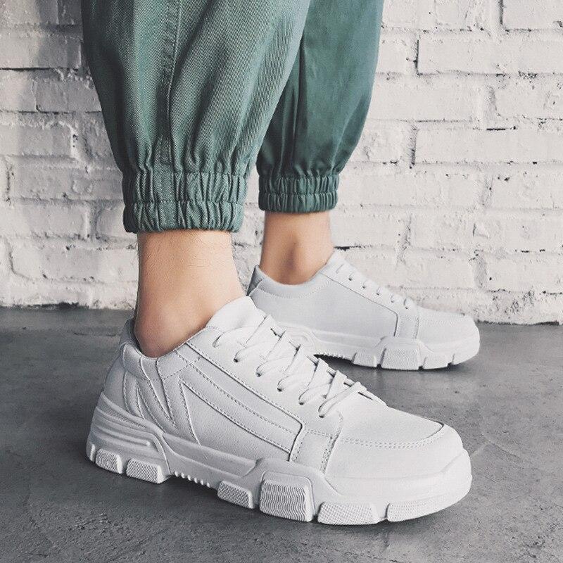 Hommes chaussures décontractées hommes baskets appartements confortable respirant microfibre plein air loisirs chaussures Style à la mode