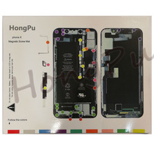 16 Cái/lốc Từ Vít Cho iPhone 11 XS MAX/XS/XR/X/8/8 Plus/7P/7/6sp/6/6S/6/6 Plus/5S Hướng Dẫn Miếng Lót Sửa Chữa Điện Thoại Di Động dụng Cụ
