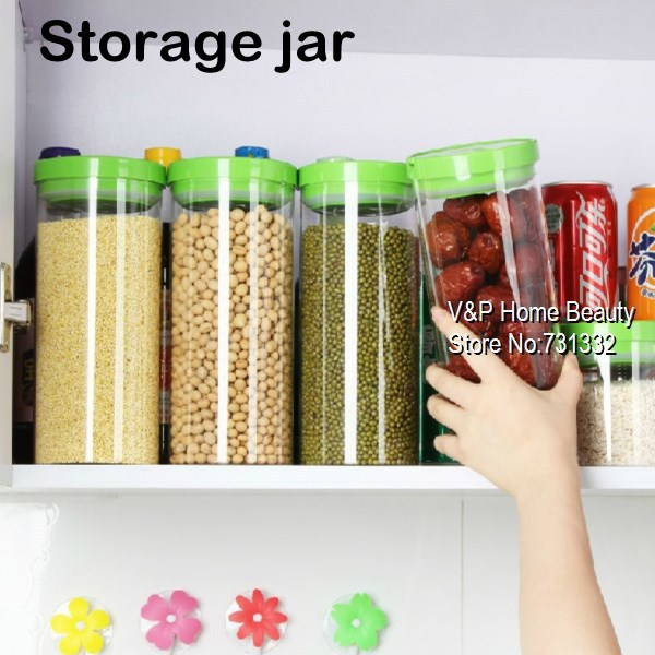 1250ml Glass jars and lids Food Candy storage Tea container Caning