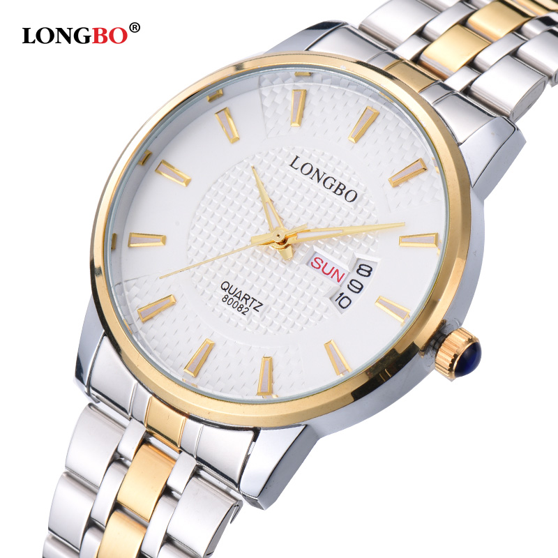 Hot Sale Men Watches Top Brand Luxury Day Date Stainless Steel Luminous Hour Clock Male Casual Quartz Watch Relojes Hombre 2016 2017 men watches brand hour date week clock male stainless steel luxury quartz watch men casual sport wristwatch
