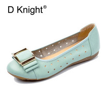 Women Flats Summer Shallow Loafers Driving Shoes Women Genuine Leather Ballerina Shoes 2018 New Spring Ballet Flats For Woman цена 2017