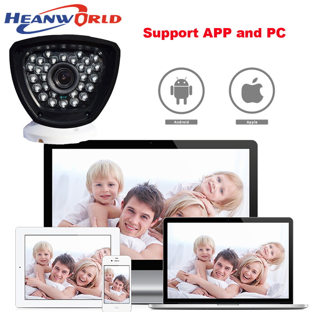Heanworld Poe Camera 720p Power Over Ethernet Ir Bullet Ip Camera Onvif Outdoor Indoor Home Security Camera Cctv Network Ip Cam High Quality Security & Protection