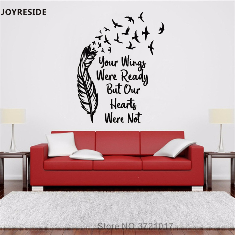 Detail Feedback Questions About Joyreside Your Wings Were Ready Wall
