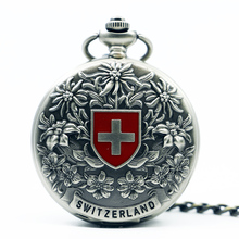 Mechanical Hand Wind Pocket Watch Steampunk Roman Numbers Steel Fob Watches PJX1260