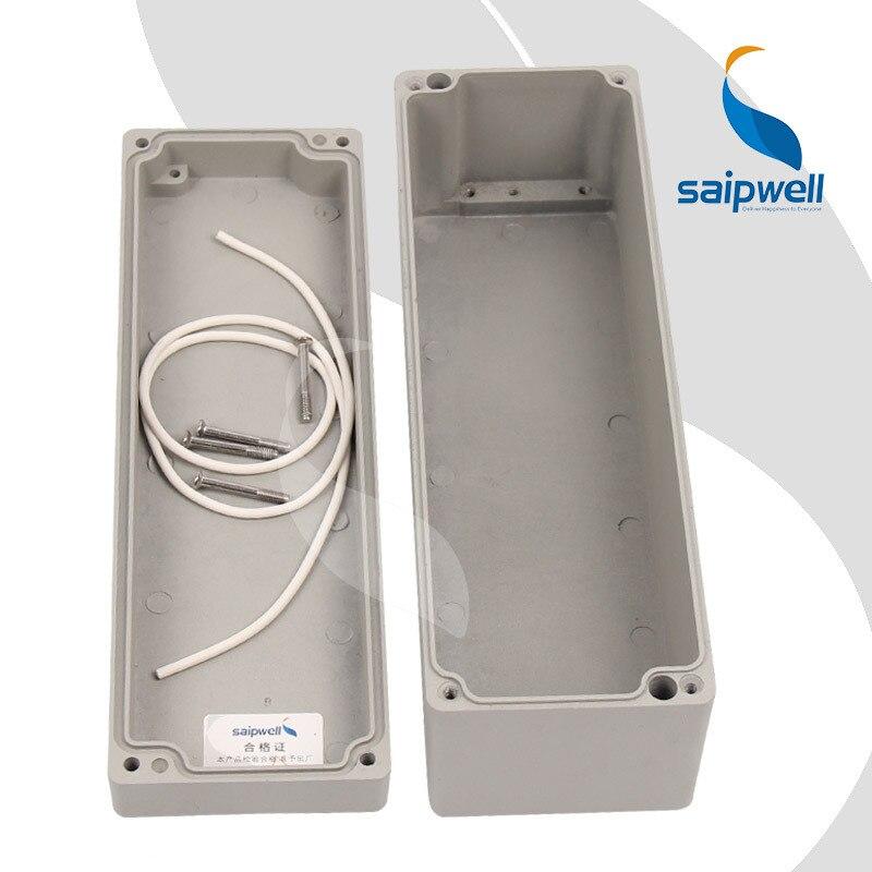 250*80*80mm Peinture Pulvérisation Boîtier En Aluminium/Projet Boîte Boîtiers pour L'électronique (SP-AG-FA22)