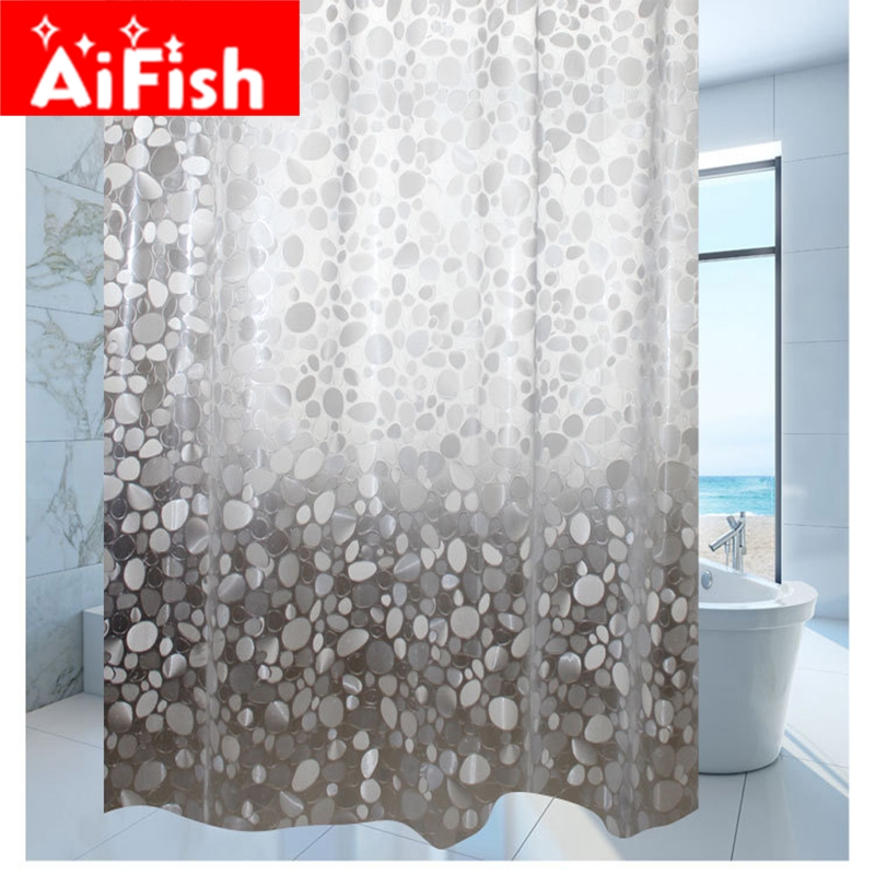 Shower <font><b>Curtain</b></font> Waterproof Transparent Thickening Customize Ultra Wide Bathroom <font><b>Curtain</b></font> Pebble Grain Shower <font><b>Curtain</b></font> DY004-20