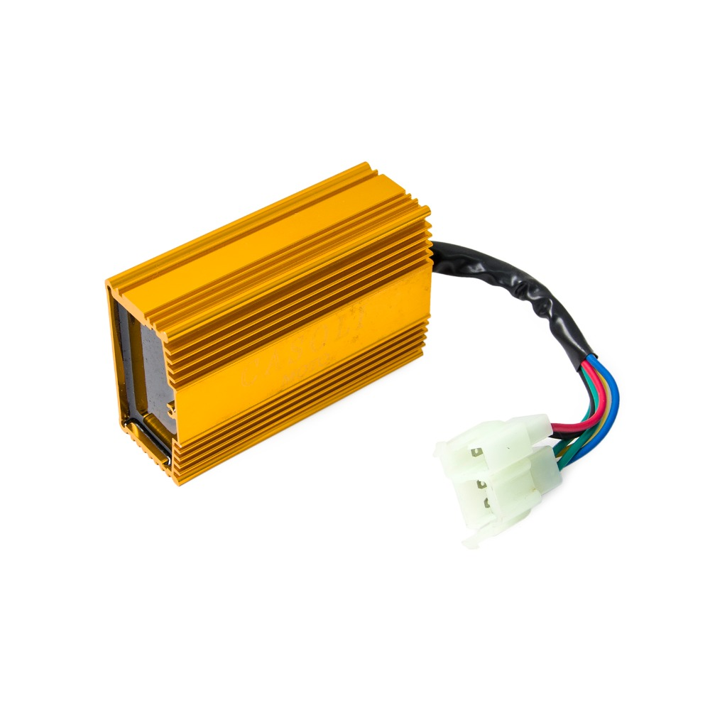 small resolution of 6 pin ac ignition coil cdi box cdi for cg 125 125cc 250 250cc atv quad motorcycle ac engine parts free shipping in motorbike ingition from automobiles
