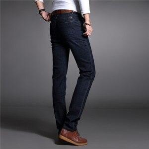 Image 3 - 2017 autunno Inverno Addensare Smart Casual Jeans di Modo Degli Uomini Del Denim Dei Pantaloni di Marca di Abbigliamento 30 42 Jeans 327B