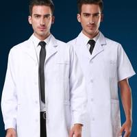 Customized White Lab Coats Medical Clothing Hospital Beauty Salon Long Sleeve Surgical Doctor Coat