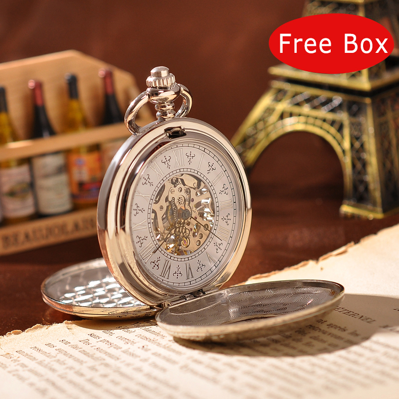 popular engraved pocket watches for men buy cheap engraved pocket modern engraved mechanical pocket watch silver luxury brand watch for mens round vintage necklace watch hot