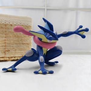 Image 4 - 2019 Anime Cartoon Greninja PVC Action Figures Toy Children Collection Model Toys Gift 3 5cm