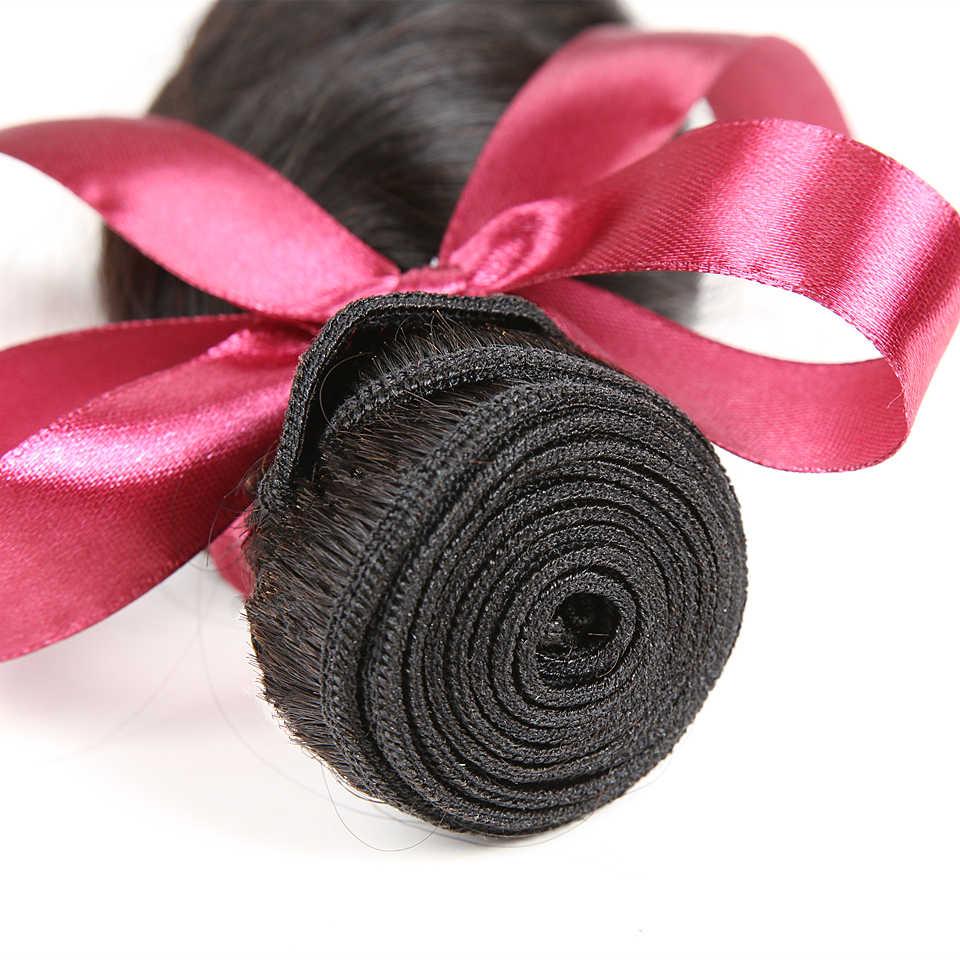 Extensiones brasileñas de cabello humano Karizma de onda suelta 4 en oferta de extensiones 100% cabello no Remy extensiones de pelo ondulado brasileñas de Color Natural