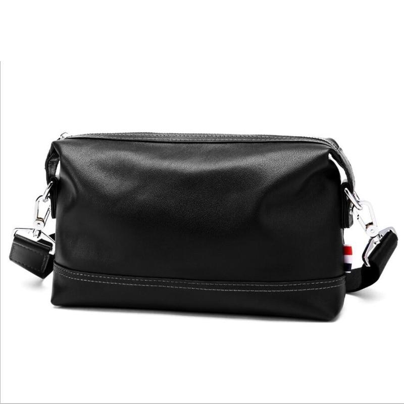 Ocasional genuíno bolsa de couro para homens, Homens promoção saco de couro, Saco do mensageiro do vintage frete grátis