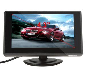 Image 2 - XYCING 4.3 بوصة لون TFT LCD سيارة الرؤية الخلفية رصد سيارة احتياطية شاشة للمساعدة في ركن السيارة بسهولة ل كاميرا الرؤية الخلفية DVD VCD