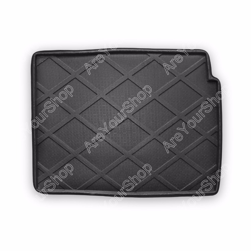 For BMW 7-Series 2009-2012 Car Auto Boot liner Cargo Mat Tray Rear Trunk Stickers 1PCS Black New Arrival Car Accessory Covers car rear trunk security shield cargo cover for jeep compass 2007 2008 2009 2010 2011 high qualit auto accessories