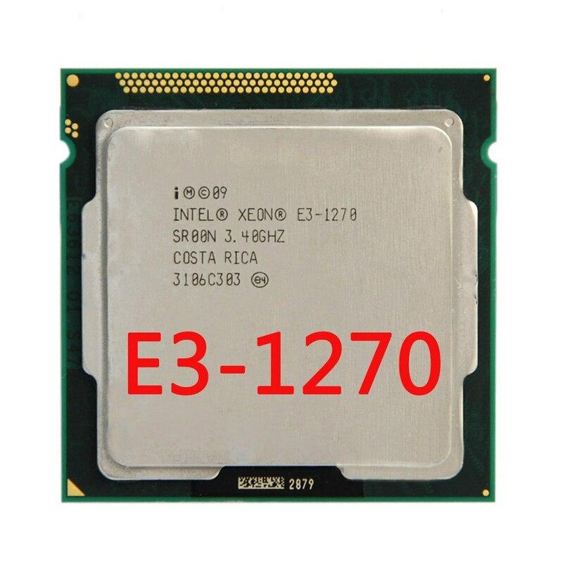 Processeur d'unité centrale SR00K Quad-Core Intel Xeon E3 1270 8 M 3.4 GHz Cache LGA 1155