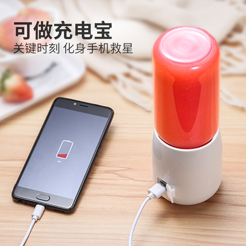 Juicer   Automatic  Portable USB Rechargeable Mini Juicer Machine Fruit Juicer Students Small Electric  Juice Cup 5