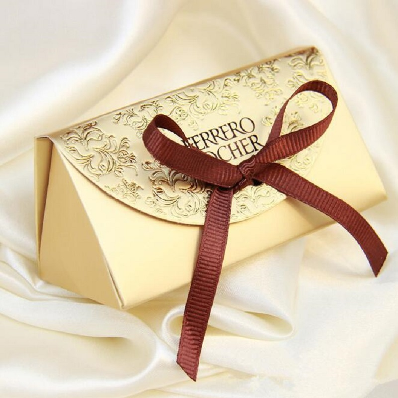 Wedding Favors And Gifts Baby Shower Paper Candy Box Ferrero Rocher