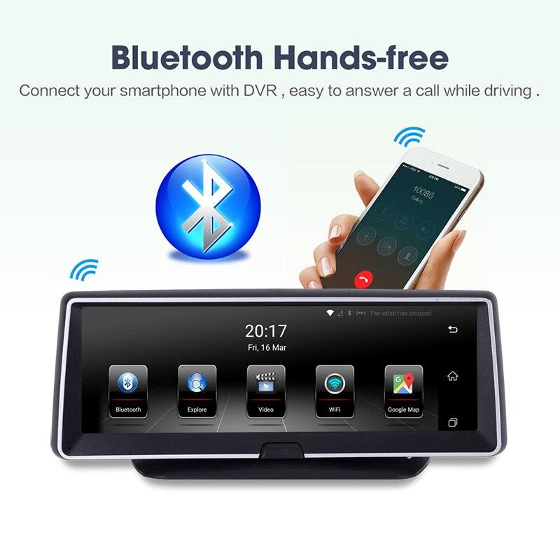 Xgody 8 дюймов Автомобильный видеорегистратор Gps Navigatior 3g Android 5,0 приборной панели навигации FHD 1080 P 16 ГБ Rom Bluetooth Hands Бесплатная WI FI 2018 карта ЕС