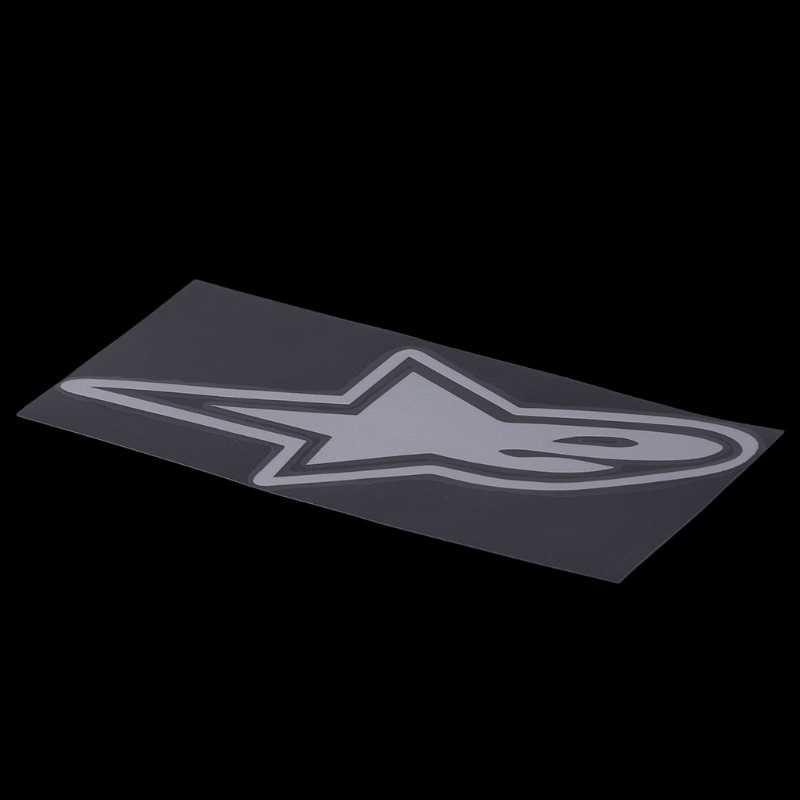 卸売 18 × 7.6 センチメートルアルパインスターカーステッカーオートバイ車の装飾アクセサリーステッカー May06