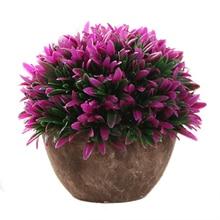 Artificial Plants Vase Set Simulation Flower Bonsai Wedding Potted  Furnishing Living Room For Home Decoration Valentineu0027s