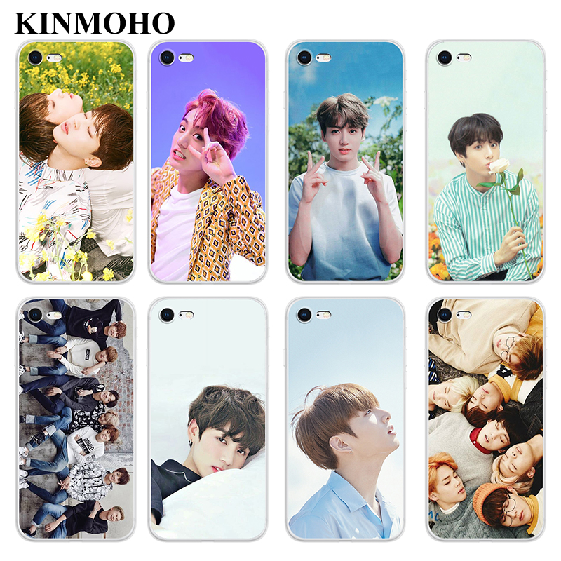 Generous Kinmoho Bangtan Boys Jung Kook Kpop Bts Phone Cases Cover For Iphone 7 8 Plus 6s 6 X Xr Xs Max 5s Se Capinha Funda Soft Silicone In Pain Phone Bags & Cases Cellphones & Telecommunications