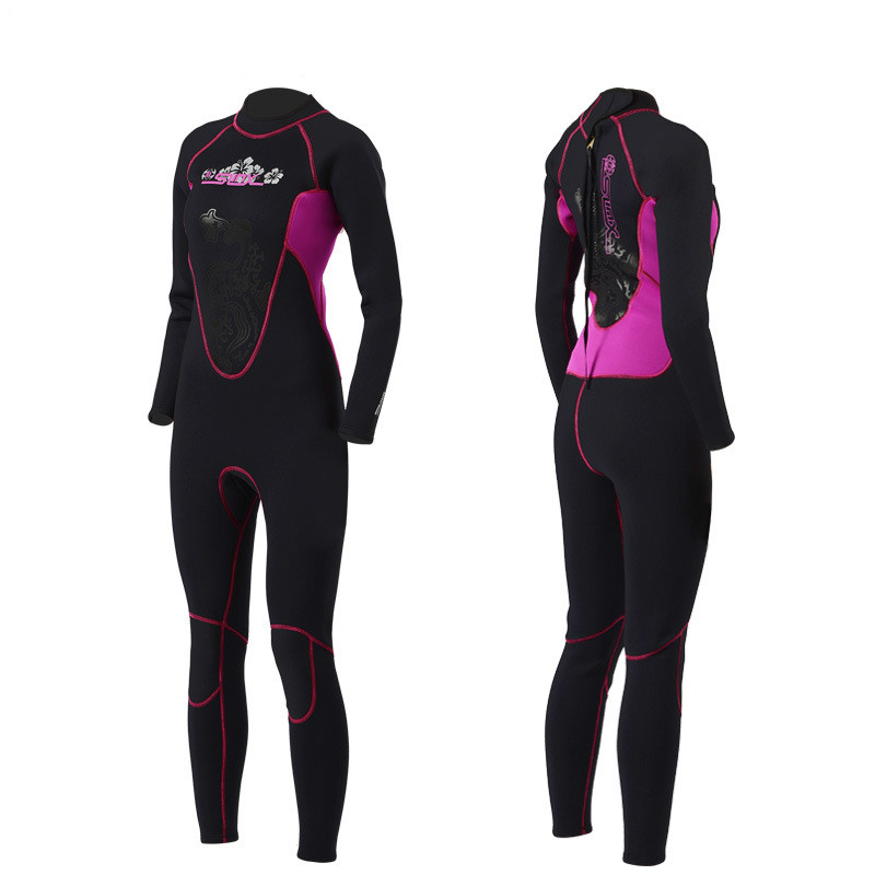 цены Slinx Women 3mm Neoprene one piece Full Body Scuba Dive Wet Suit Wetsuits Winter Swim Surfing Snorkeling Spearfishing Water ski