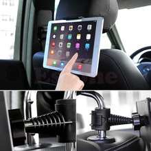 NEW Universal Back 360 Degree Rotation Adjustable Car Seat Headrest Mount Holder Stand For Samsung/iPad the tablet GPS Tablet PC