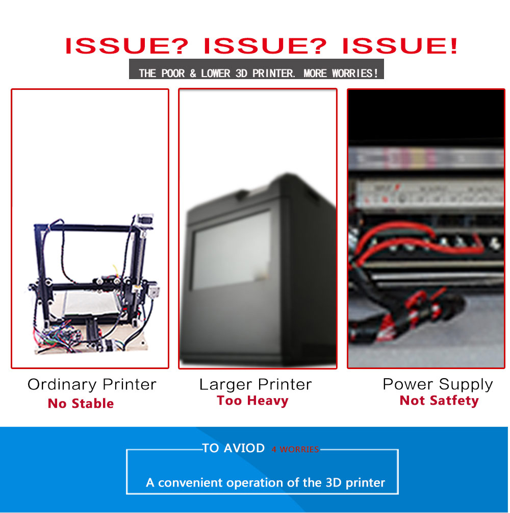 Tronxy X5 3D Printer DIY Full Kit MK3 Heatbed 210*210*280mm