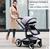 SunRose carrinho de bebê carrinho de criança pode sentar reclináveis leve dobrável carrinho de verão alta paisagem entrega gratuita