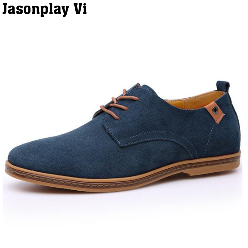 Jasonplay Vi & Men shoes 2016 Summer New Fashion Suede Genuine Leather shoes high quality Oxford Lace-up Casual shoes QG40 jasonplay vi