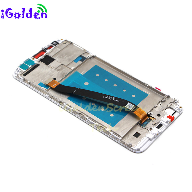 HTB1D81SueuSBuNjy1Xcq6AYjFXaN pantalla For Huawei Mate 10 Lite LCD Display Touch Screen Digitizer Screen Glass Panel Assembly with frame for Mate 10 Lite lcd