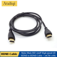 HDMI Cable HD 1080P High speed 3D Cable HDMI 1.4V hdmi to hdmi Cable 50CM 1M 1.5M 2M 3M 5M 7.5M 10M 15M for HDTV XBOX PS3 LCD TV