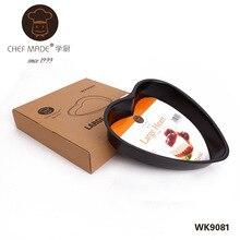 Chefmade WK9081 Kuchendekorateur Bevorzugte 10-zoll Heart Shaped Kuchen Pan, hochzeit kuchen backform