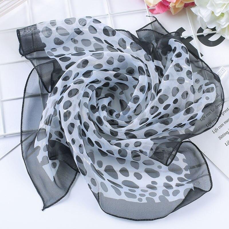 Spring-summer hot women silk   scarf   square lady   wrap   small office neck head   scarf   hair   scarf   foulard 50*50cm skinny scarfs
