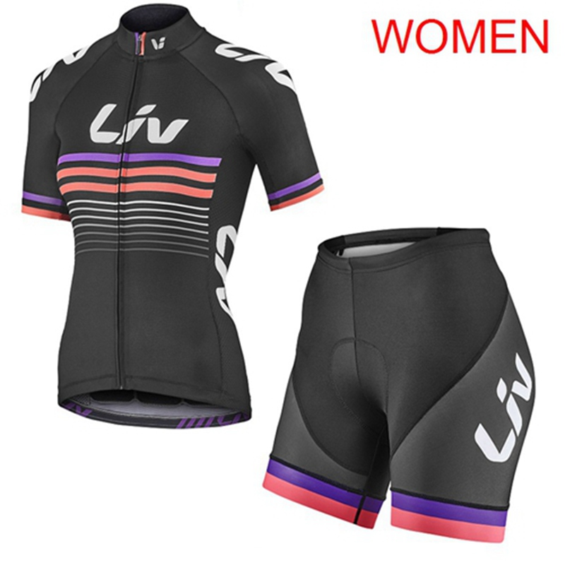 2019 LIV Summer Cycling Jersey Set Breathable Clothing Mountain <font><b>Bike</b></font> <font><b>Wear</b></font> Clothes Maillot Ropa Ciclismo U70406 image